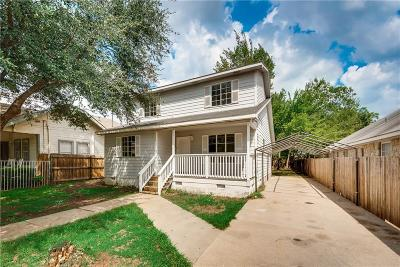 Dallas Single Family Home For Sale: 2526 Lapsley Street