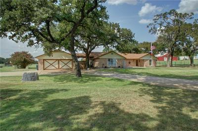 Springtown Single Family Home For Sale: 3701 Springfield Road