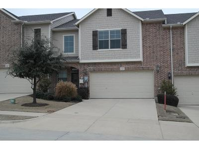 Irving Townhouse For Sale: 4151 Florence Drive