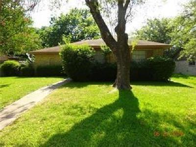 Garland Residential Lease For Lease: 1113 Holbrook Drive
