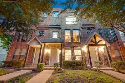 Dallas Townhouse For Sale: 4112 Lafayette