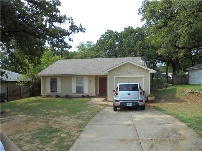 Fort Worth TX Single Family Home For Sale: $124,999