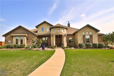 Abilene Single Family Home For Sale: 202 Periwinkle Trail