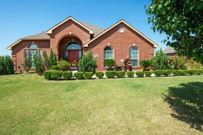 Terrell Single Family Home For Sale: 529 Kings Creek Drive