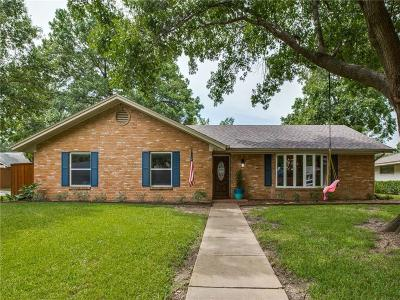 Dallas Single Family Home Active Option Contract: 3252 Norcross Lane