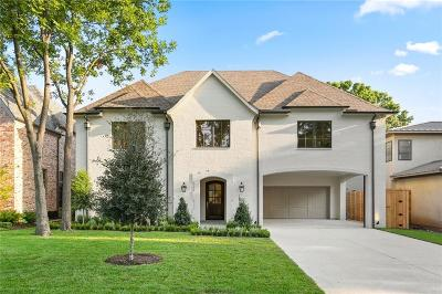 Dallas Single Family Home For Sale: 6804 Woodland Drive