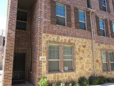 Carrollton Townhouse For Sale: 4205 Riverview Drive #B6