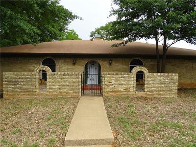 Arlington Single Family Home For Sale: 1839 E Cedar Elm Drive