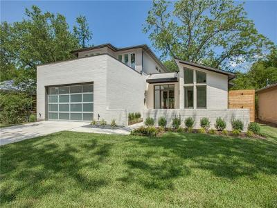 Dallas Single Family Home For Sale: 9846 Mixon Drive