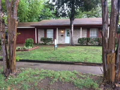 Garland Residential Lease For Lease: 1510 Wagon Wheel Road