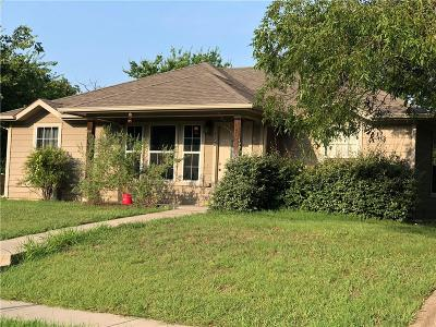 Sherman Single Family Home For Sale: 712 S Montgomery Street