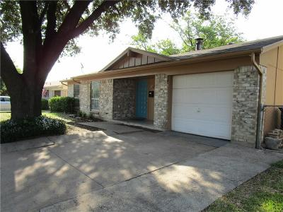Garland Single Family Home For Sale: 1726 Indian School Road