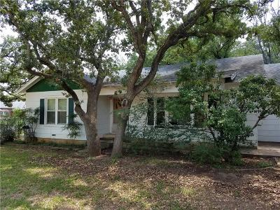 Eastland Single Family Home For Sale: 1900 W Plummer W