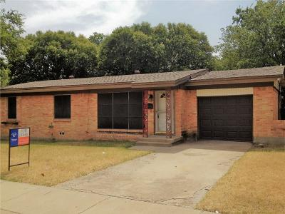 Fort Worth Residential Lease For Lease: 3504 Fortner Way