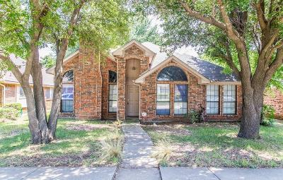 Cedar Hill Single Family Home Active Contingent: 1518 Curtis Lane