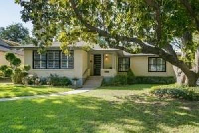 Dallas Single Family Home For Sale: 6947 Merrilee Lane