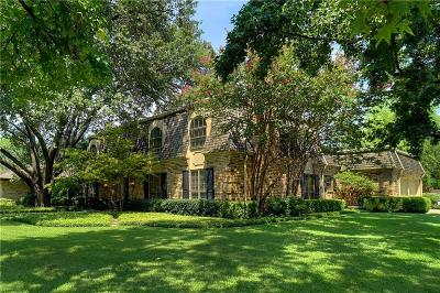 Fort Worth Single Family Home For Sale: 5400 Benbridge