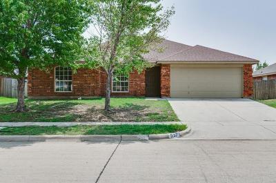 Saginaw Single Family Home For Sale: 537 Dustin Street