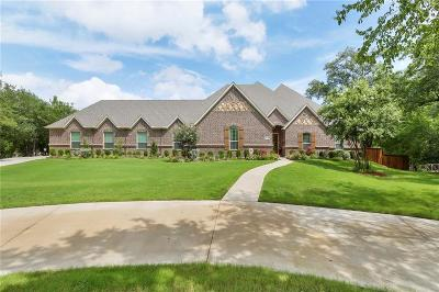 Keller Single Family Home For Sale: 3120 Creek Road