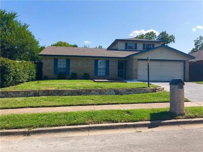 Fort Worth TX Single Family Home For Sale: $227,300