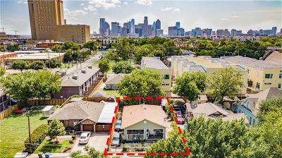 Dallas Single Family Home For Sale: 1515 Holly Avenue