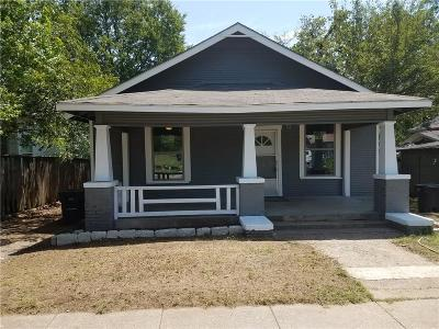 Fort Worth TX Single Family Home For Sale: $99,900