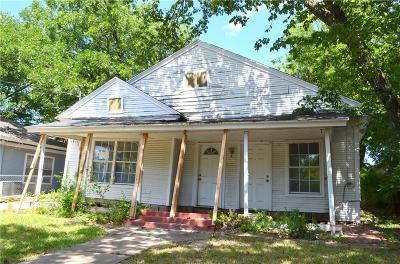Dallas Single Family Home For Sale: 424 N Denver St. Street