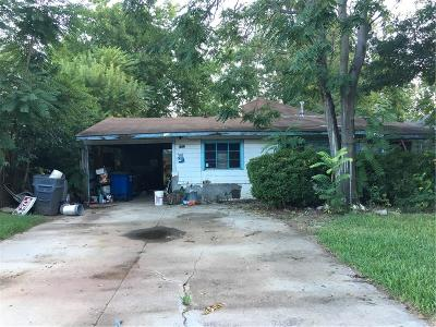Single Family Home For Sale: 4322 Merrell Road