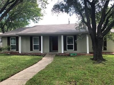 Carrollton Single Family Home For Sale: 1806 Castille Drive