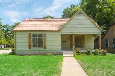 Fort Worth Residential Lease For Lease: 1128 Cleckler Avenue