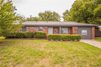 Fort Worth Single Family Home For Sale: 4700 Tony Court