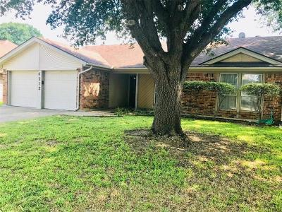 Fort Worth Single Family Home For Sale: 4212 Chestnut Street