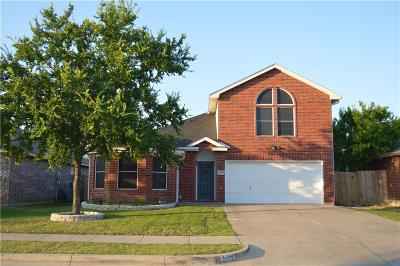 Fort Worth TX Single Family Home For Sale: $255,000
