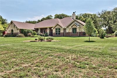 Weatherford Single Family Home Active Kick Out: 107 Sunny Oaks Court
