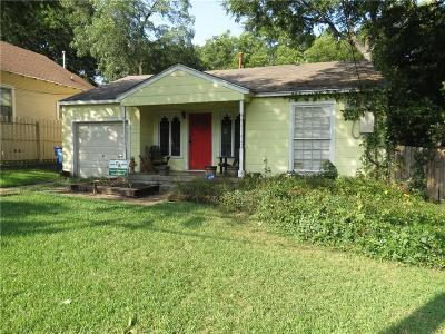 Dallas Single Family Home For Sale: 1918 Lakeland Drive