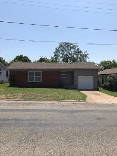 Sherman Single Family Home For Sale: 1406 E King Street E