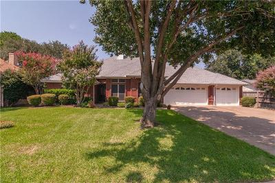 Grapevine Single Family Home Active Option Contract: 3302 Summerfield Drive