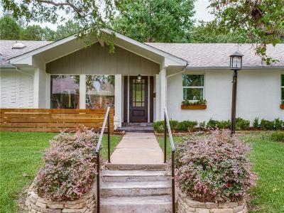 Dallas Single Family Home For Sale: 3516 Coral Gables Drive