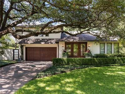 Dallas Single Family Home For Sale: 5329 Nakoma Drive