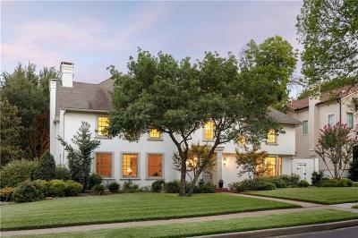 Highland Park Single Family Home For Sale: 4501 Lorraine Avenue