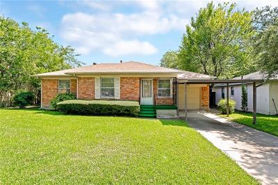 Dallas Single Family Home For Sale: 2418 Costa Mesa Drive