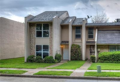 Garland Townhouse For Sale: 340 Valley Park Drive