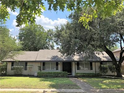 Dallas Single Family Home For Sale: 3168 Jubilee Trail
