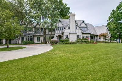 Single Family Home For Sale: 4707 Chapel Hill Road