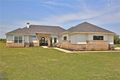 Abilene Single Family Home For Sale: 218 Angie Lane