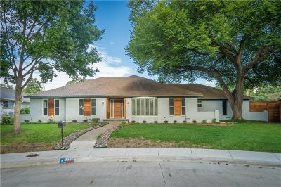 Dallas Single Family Home For Sale: 10008 Dahman Circle