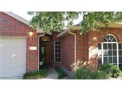 Garland Single Family Home For Sale: 717 Mill Branch Drive