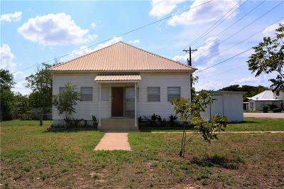 Goldthwaite Single Family Home For Sale: 715 Hutchings