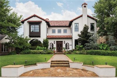 Dallas, Highland Park, University Park Single Family Home For Sale: 3502 Caruth Boulevard