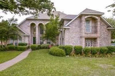 Flower Mound Single Family Home For Sale: 1401 Amberwood Glen